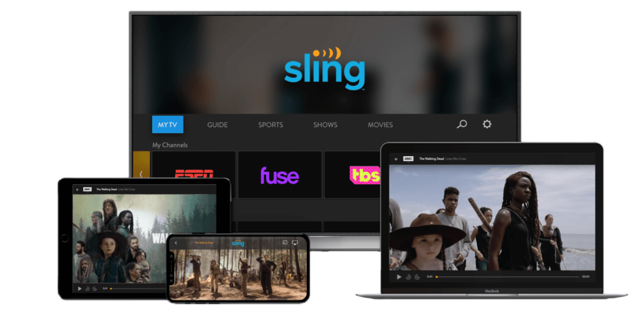 Sling TV on different devices